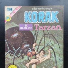 Tebeos: KORAK, EL HIJO DE TARZAN 13, 1973, NOVARO BUEN ESTADO. Lote 232771525
