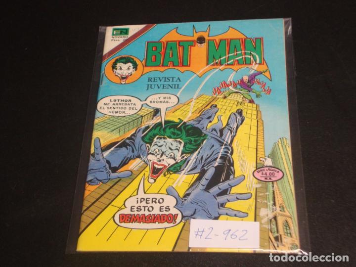 BATMAN # 2- 962 (Tebeos y Comics - Novaro - Batman)