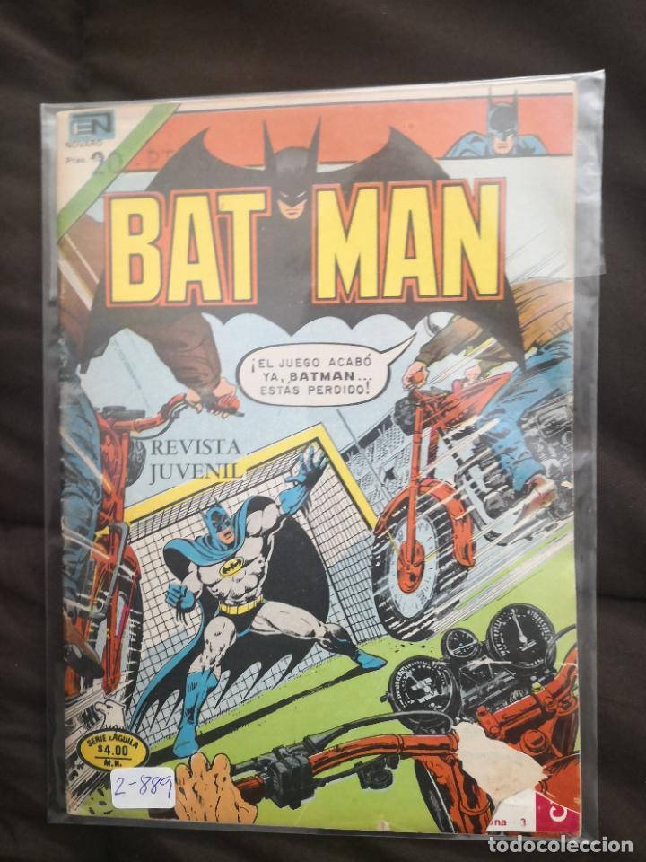 BATMAN 2-889 ROTURA EN PORTADA INFERIOR DERECHA (Tebeos y Comics - Novaro - Batman)