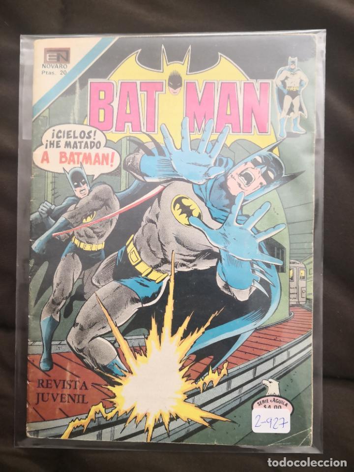 BATMAN 2-927 BUEN ESTADO (Tebeos y Comics - Novaro - Batman)