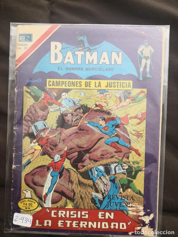 BATMAN BATMAN 2-934 (Tebeos y Comics - Novaro - Batman)
