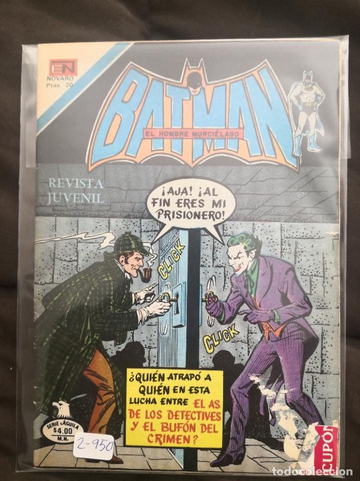 BATMAN 2-950 (Tebeos y Comics - Novaro - Batman)