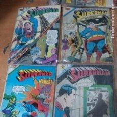 Tebeos: SUPERMAN NOVARO LOTE X4 1968 N. 671/677/790/98,LOTE 1 OFERTON. Lote 233151895