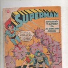 Tebeos: SUPERMAN Nº 275 . SUPERMAN Y BATMAN VS. LOS MONSTRUOS ESTELARES-1961-NOVARO. Lote 234468575