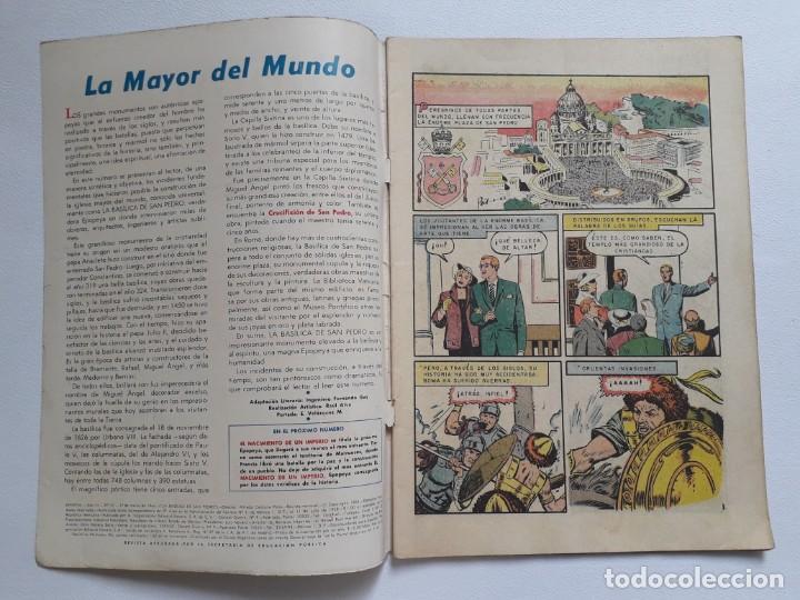 Tebeos: Epopeya nº 70 - La basílica de San Pedro - original editorial Novaro - Foto 2 - 234476800