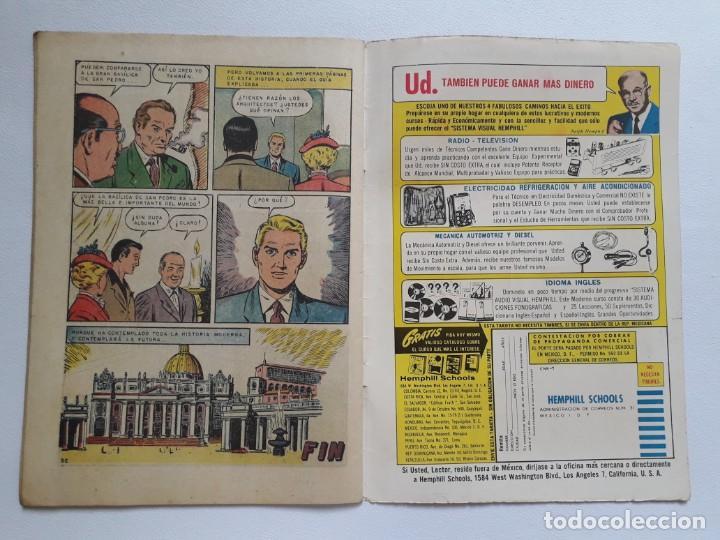 Tebeos: Epopeya nº 70 - La basílica de San Pedro - original editorial Novaro - Foto 3 - 234476800