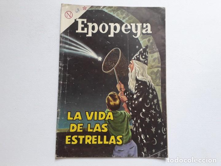 EPOPEYA Nº 68 - LA VIDA DE LAS ESTRELLAS - ORIGINAL EDITORIAL NOVARO (Tebeos y Comics - Novaro - Epopeya)