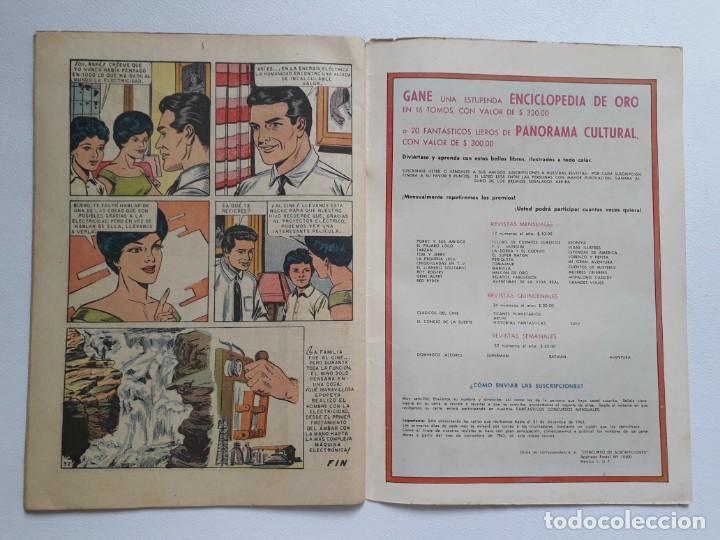 Tebeos: Epopeya nº 62 - La conquista de la electricidad - original editorial Novaro - Foto 3 - 234481220