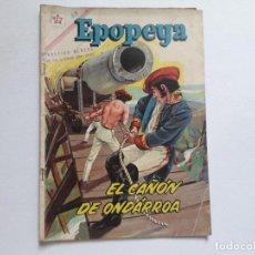 Tebeos: EPOPEYA Nº 50 - EL CAÑÓN DE ONDÁRROA - ORIGINAL EDITORIAL NOVARO. Lote 234481930