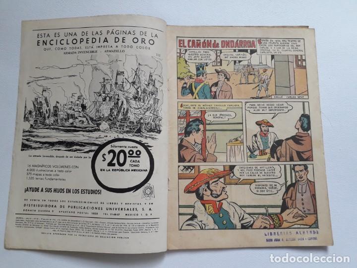 Tebeos: Epopeya nº 50 - El cañón de Ondárroa - original editorial Novaro - Foto 2 - 234481930