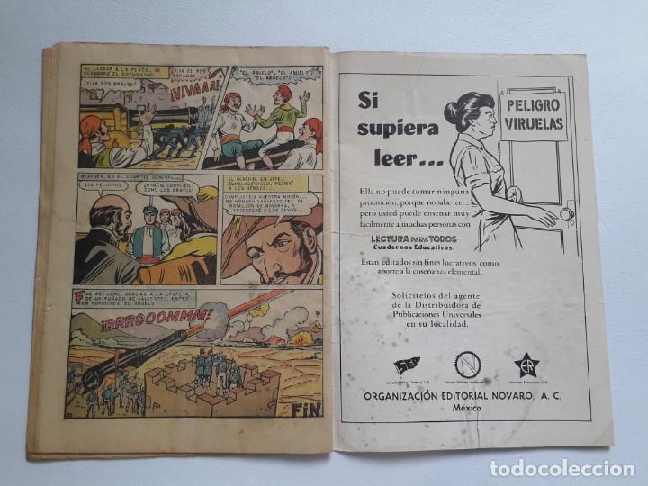 Tebeos: Epopeya nº 50 - El cañón de Ondárroa - original editorial Novaro - Foto 3 - 234481930