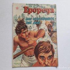 Tebeos: EPOPEYA Nº 49 - LOS VENCEDORES DEL MAR - ORIGINAL EDITORIAL NOVARO. Lote 234482305