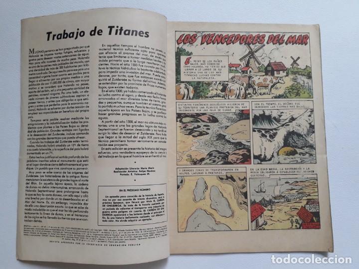 Tebeos: Epopeya nº 49 - Los vencedores del mar - original editorial Novaro - Foto 2 - 234482305