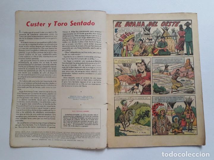 Tebeos: Epopeya nº 45 - El drama del oeste - original editorial Novaro - Foto 2 - 234482660