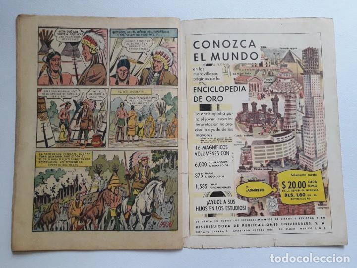 Tebeos: Epopeya nº 45 - El drama del oeste - original editorial Novaro - Foto 3 - 234482660