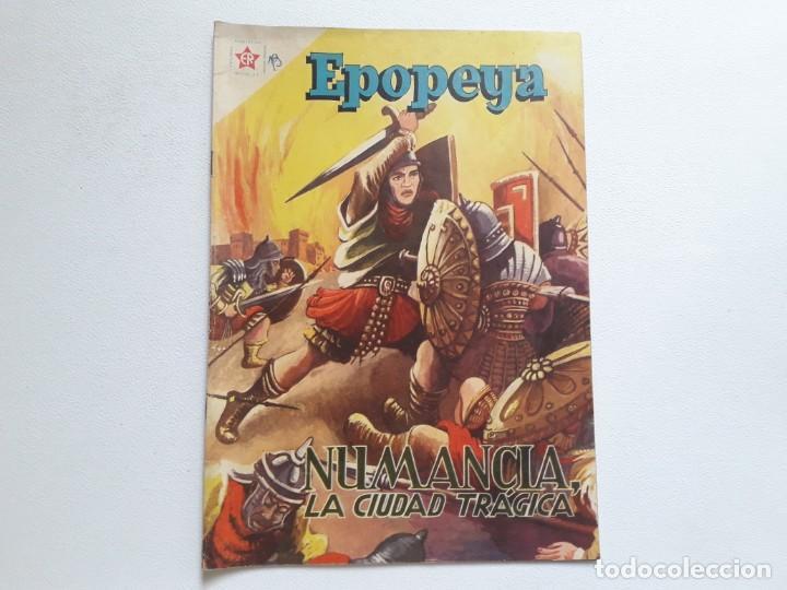 EPOPEYA Nº 19 - NUMANCIA, LA CIUDAD TRÁGICA - ORIGINAL EDITORIAL NOVARO (Tebeos y Comics - Novaro - Epopeya)