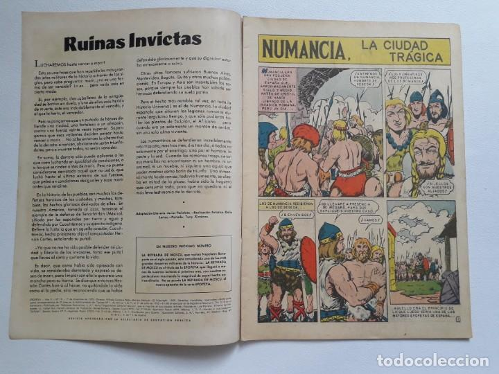 Tebeos: Epopeya nº 19 - Numancia, la ciudad trágica - original editorial Novaro - Foto 2 - 234483665