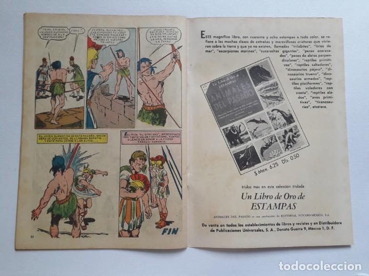 Tebeos: Epopeya nº 19 - Numancia, la ciudad trágica - original editorial Novaro - Foto 3 - 234483665
