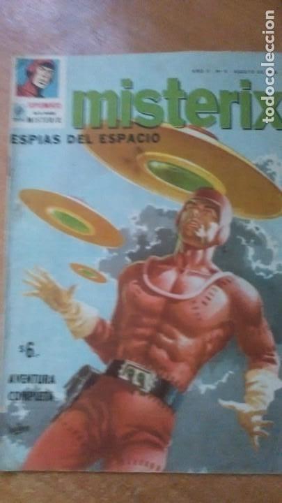 MISTERIX ORIGINAL N.11 1959 EDITOR YAGO (Tebeos y Comics - Novaro - Sci-Fi)