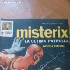 Tebeos: MISTERIX ORIGINAL N. 1959 EDITOR YAGO SUPERHEROE ARGENT/ITALIANO. Lote 234516135