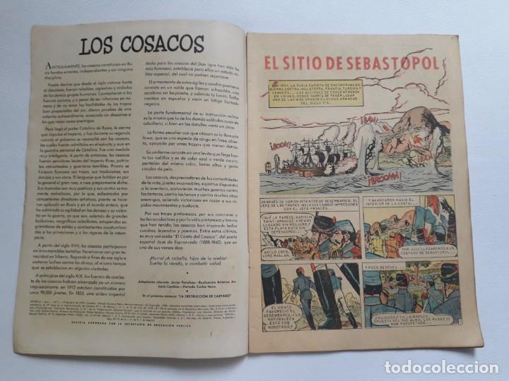 Tebeos: Epopeya nº 11 - El sitio de Sebastopol - original editorial Novaro - Foto 2 - 234568075