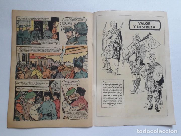 Tebeos: Epopeya nº 11 - El sitio de Sebastopol - original editorial Novaro - Foto 3 - 234568075