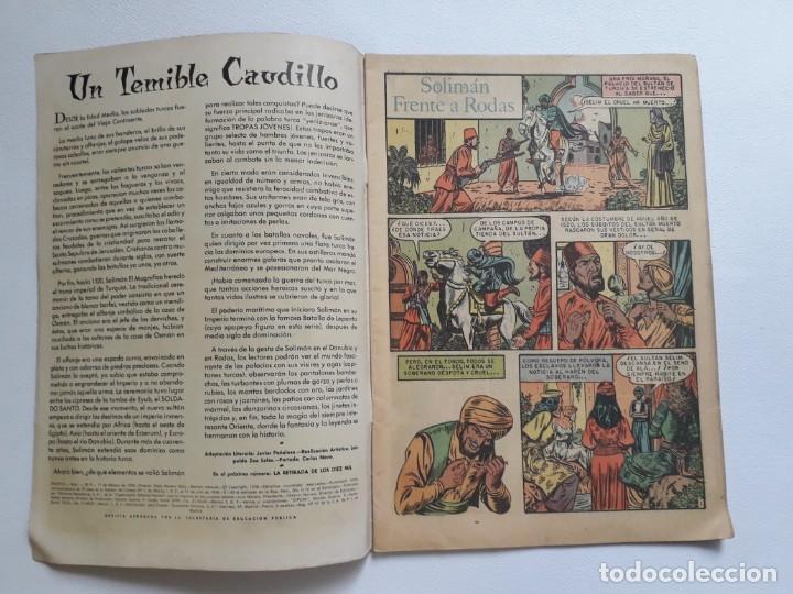 Tebeos: Epopeya nº 9 - Solimán frente a Rodas - original editorial Novaro - Foto 2 - 234568440