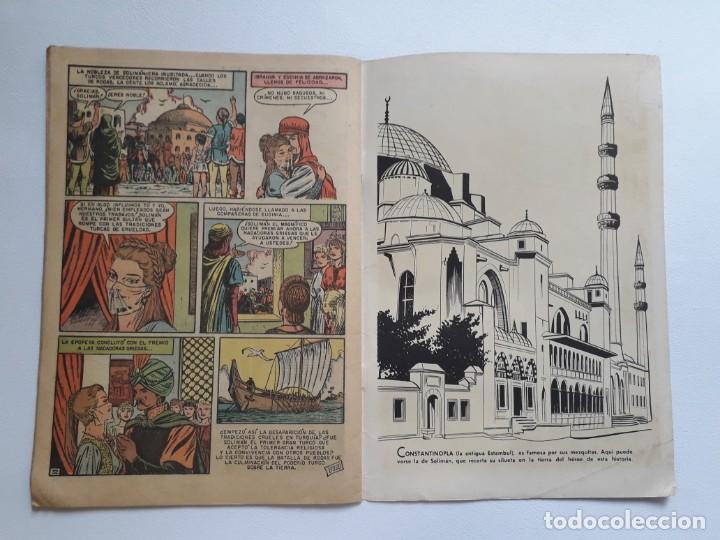 Tebeos: Epopeya nº 9 - Solimán frente a Rodas - original editorial Novaro - Foto 3 - 234568440