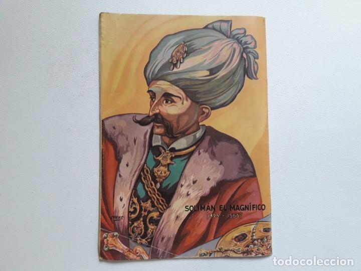 Tebeos: Epopeya nº 9 - Solimán frente a Rodas - original editorial Novaro - Foto 4 - 234568440