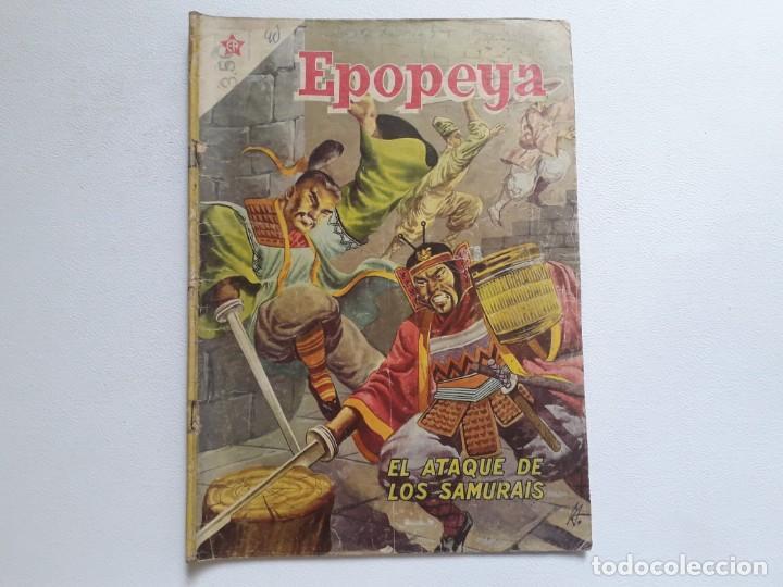 EPOPEYA Nº 3 - EL ATAQUE DE LOS SAMURAIS - ORIGINAL EDITORIAL NOVARO (Tebeos y Comics - Novaro - Epopeya)