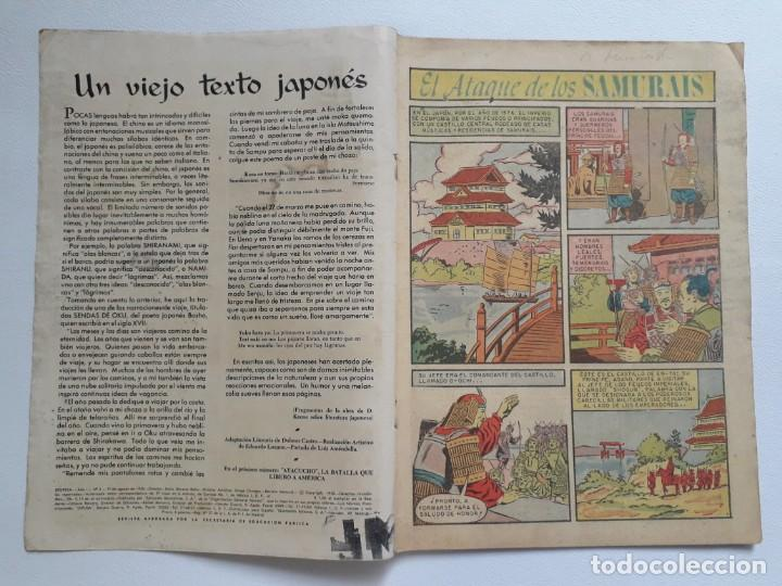 Tebeos: Epopeya nº 3 - El ataque de los samurais - original editorial Novaro - Foto 2 - 234568760