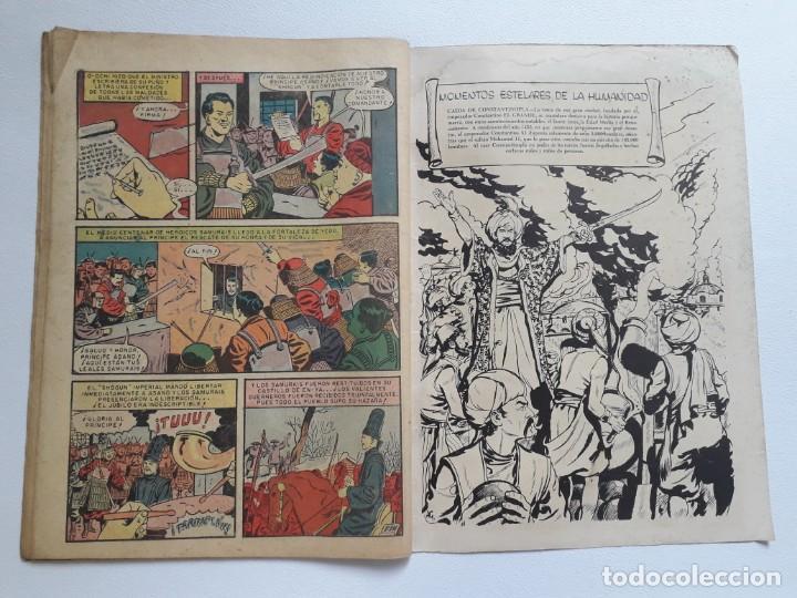 Tebeos: Epopeya nº 3 - El ataque de los samurais - original editorial Novaro - Foto 3 - 234568760