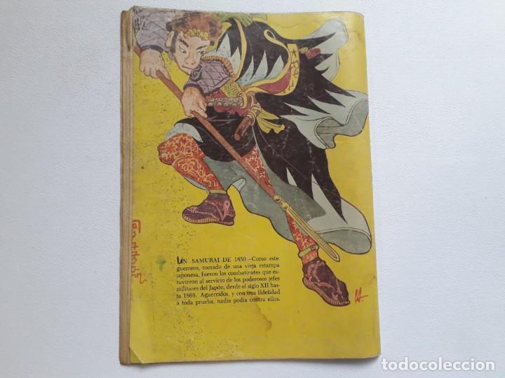 Tebeos: Epopeya nº 3 - El ataque de los samurais - original editorial Novaro - Foto 4 - 234568760