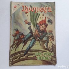 Tebeos: EPOPEYA Nº 1 - LOS NIÑOS HÉROES - ORIGINAL EDITORIAL NOVARO. Lote 234569470