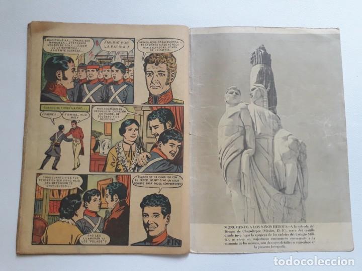 Tebeos: Epopeya nº 1 - Los niños héroes - original editorial Novaro - Foto 3 - 234569470