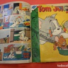 Tebeos: TOM Y JERRY. NOVARO. 4 EJEMPLARES EN UN TOMO DE ÉPOCA (1 SIN PORTADA). VER FOTOS. Lote 234720050