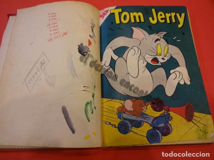 Tebeos: TOM Y JERRY. Novaro. 4 ejemplares en un tomo de época (1 sin portada). VER FOTOS - Foto 2 - 234720050