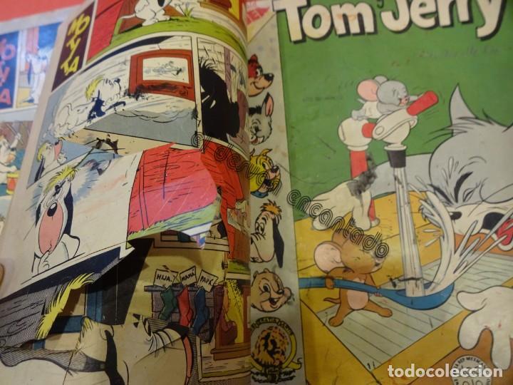 Tebeos: TOM Y JERRY. Novaro. 4 ejemplares en un tomo de época (1 sin portada). VER FOTOS - Foto 3 - 234720050