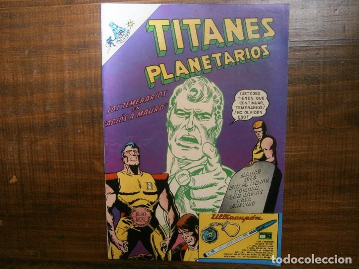 TITANES PLANETARIOS # 271 EDITORIAL NOVARO MEXICO 1968 (Tebeos y Comics - Novaro - Sci-Fi)