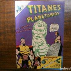Tebeos: TITANES PLANETARIOS # 271 EDITORIAL NOVARO MEXICO 1968. Lote 234734310