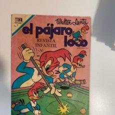 Livros de Banda Desenhada: EL PÁJARO LOCO. WALTER LANTZ. REVISTA INFANTIL. NOVARO. AÑO XX. Nº 341.. Lote 275318448