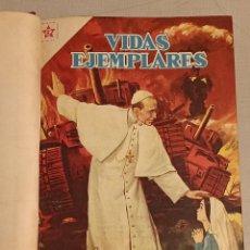 Livros de Banda Desenhada: VIDAS EJEMPLARES VIDAS ILUSTRES NOVARO. Lote 235230860