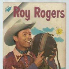 Tebeos: ROY ROGERS 43, 1956, NOVARO, MUY BUEN ESTADO. Lote 235255070