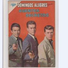 Tebeos: DOMINGOS ALEGRES NUMERO 447. AGENTES SECRETOS. Lote 235295720