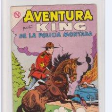 BDs: AVENTURA NUMERO 330 KING DE LA POLICIA MONTADA. Lote 235298880