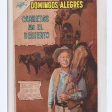 Tebeos: DOMINGOS ALEGRES NUMERO 320 CARRETAS EN EL DESIERTO.. Lote 235310850