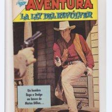 Tebeos: AVENTURA LA LEY DEL REVOLVER NUMERO 209. Lote 235471500