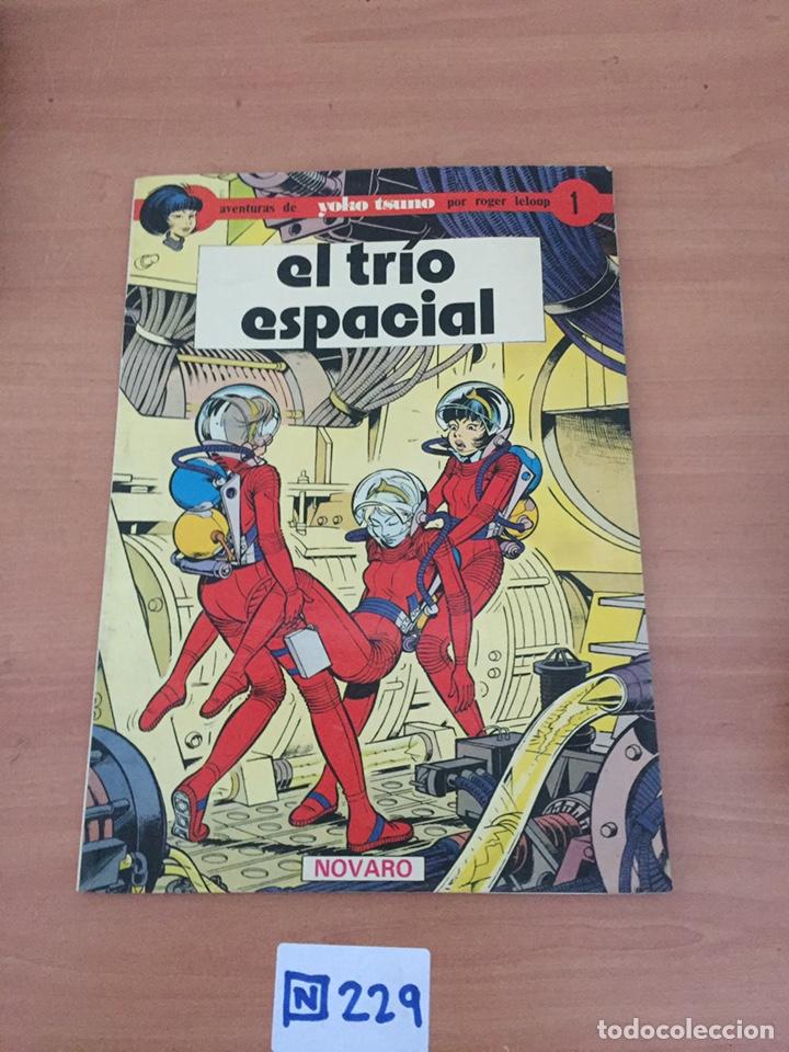 YOKO TSUNO Nº 1 - EL TRIO ESPACIAL - NOVARO (Tebeos y Comics - Novaro - Otros)