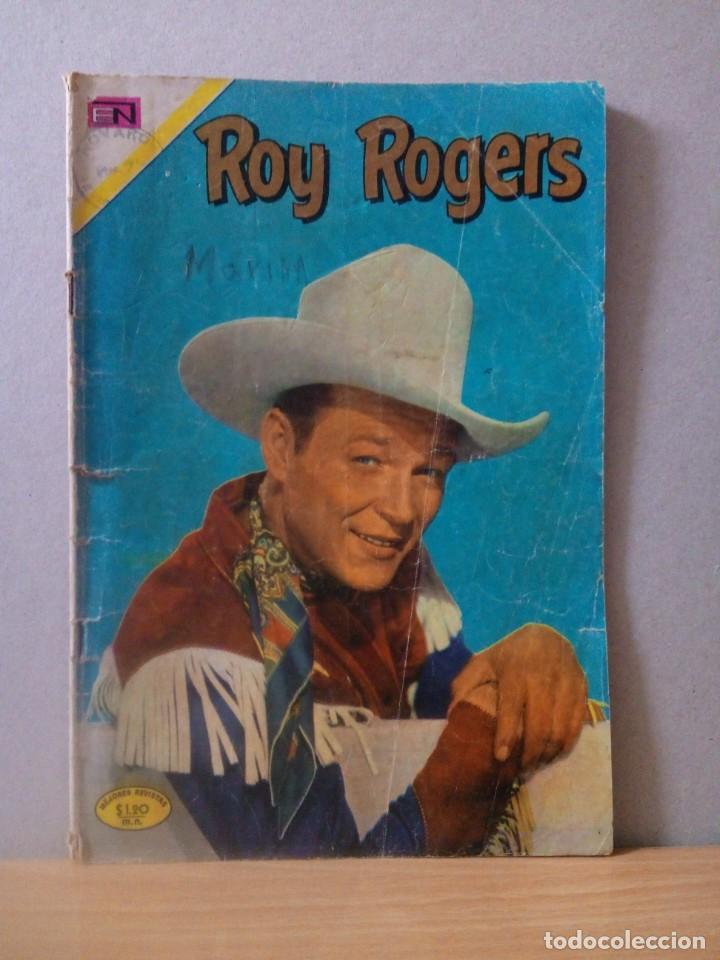 TEBEO EDITORIAL NOVARO DEL AÑO 1971 (Tebeos y Comics - Novaro - Roy Roger)