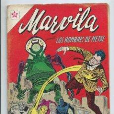 Tebeos: MARVILA (WONDER WOMAN) Nº 89 ED. NOVARO (FEBRERO 1963).. METAL MEN. Lote 235785030